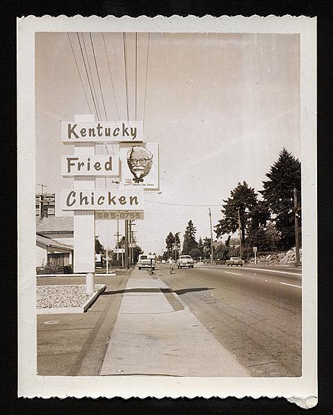Kentucky Fried Chicken, 1960's