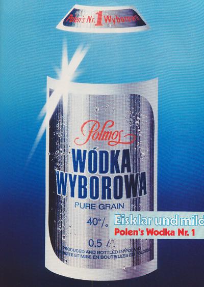 Wodka Wyborowa(1985)